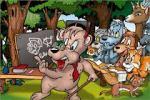 sekolah hewan